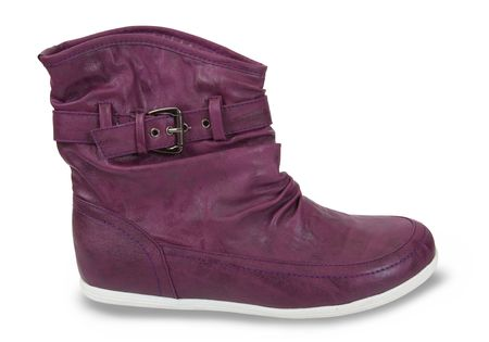 wintry: Violette wintry womanish boots Stock Photo