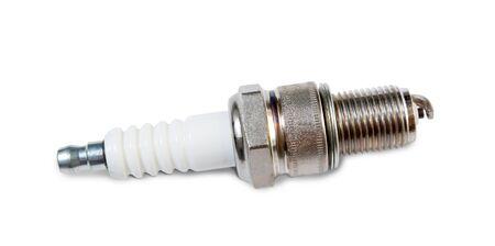 Spark plug isolated on white background  Stock Photo - 6848179