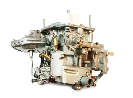 carburetor for automobile. photo