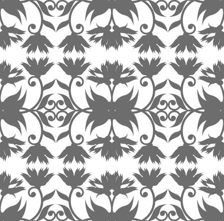 used ornament: Royal seamless pattern with floral ornament for your design. Royal ornament can me used for beautiful silk, paper page.