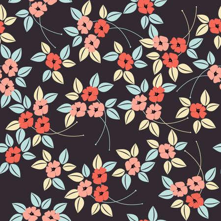 patrón de flor de amapola sin fisuras estilizada. Perfecto para fondos de pantalla, texturas de la superficie, textil, niños paño, patrones de relleno, la página web y los diseños más creativos.