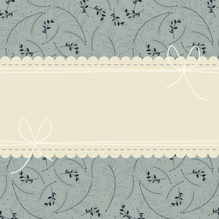 lace frame: Stylish lace frame with beautiful plants can be used for wedding invitation, greeting card , baby shower and more creative designs.