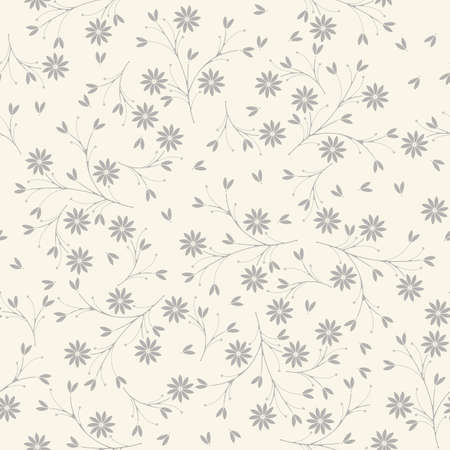 soulful: Elegant seamless pattern with flowers and petals on ivory background can be used for wallpapers, surface textures, textile,linen, kids cloth, pattern fills, page backgrounds and more designs.