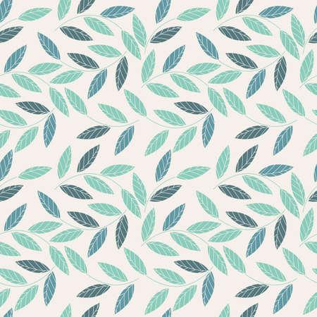 seamless decorativo con i fiori e le foglie possono essere utilizzati per la progettazione del tessuto, tessile, lino, piastrelle, carta da parati e disegni più creativi.