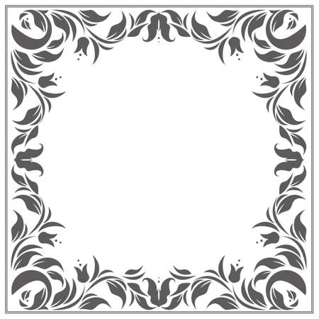 Stylish classic frame with place for your text can be used for greeting cards, invitations, covers and more designs.