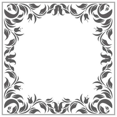 Il classico telaio classico con posto per il tuo testo può essere utilizzato per biglietti di auguri, inviti, copertine e altri disegni.