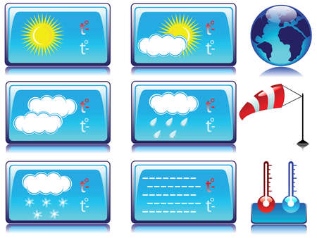 대기의: weather icons