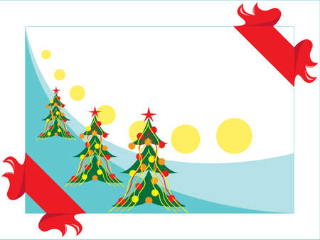 christmas tree Stock Vector - 3694085