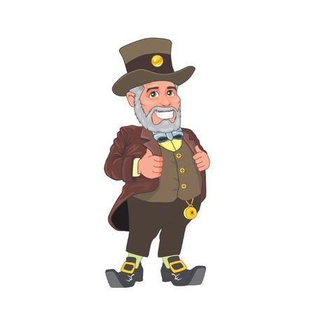 oldman: Landlords used old costumes