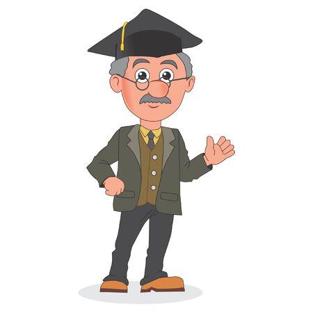 professor cartoon Çizim