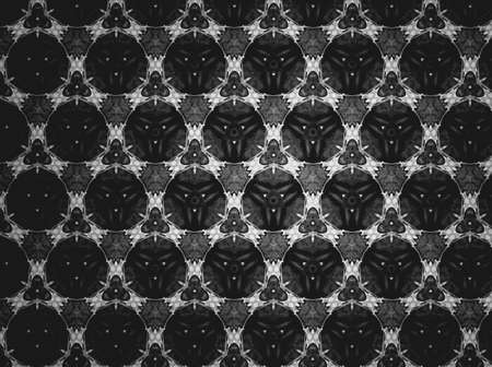 cloth: Textile cloth black and white Stock Photo