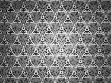 textile: Textile cloth black and white Stock Photo