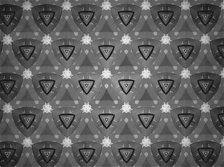 clothing: Textile cloth black and white Stock Photo