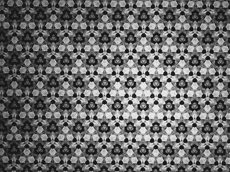 black: Textile cloth black and white Stock Photo