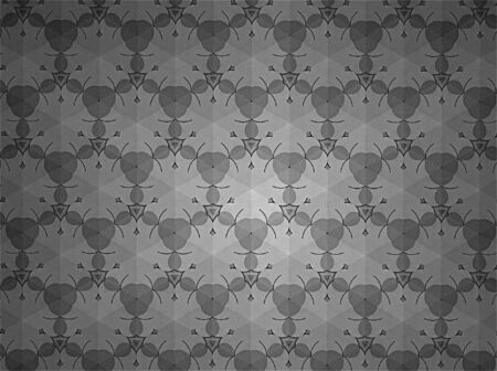 black: Pattern background black and white Stock Photo