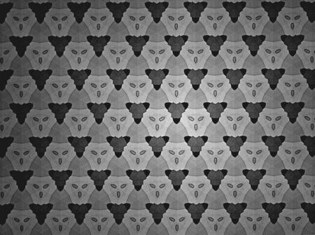 černý: Pattern background black and white Reklamní fotografie