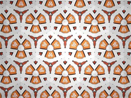 art: Pattern background color