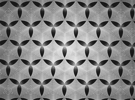 art: Pattern background black and white Stock Photo