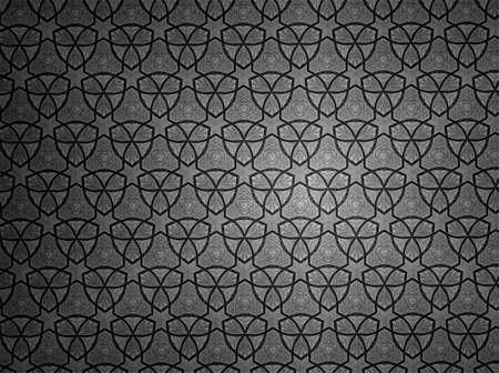 black: Pattern background black and white Stock Photo