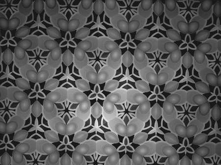 background: Pattern background black and white Stock Photo
