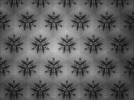 white: Pattern background black and white Stock Photo