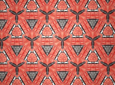 tile: Pattern cloth color Stock Photo