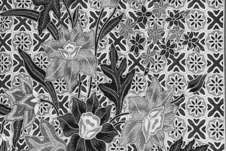 white: Pattern cloth black and white