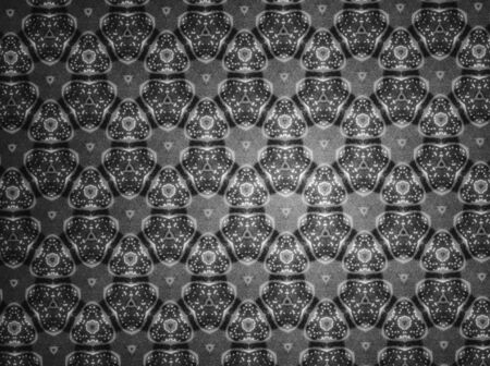 černý: Pattern black and white