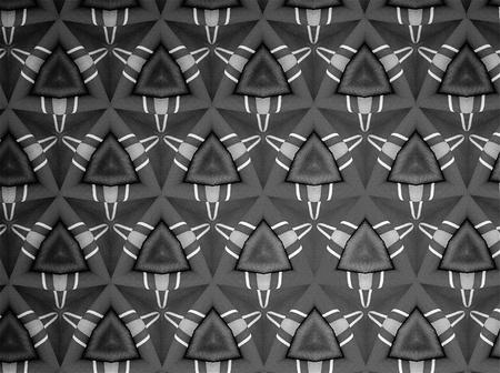 black white red: Textile cloth black and white Stock Photo