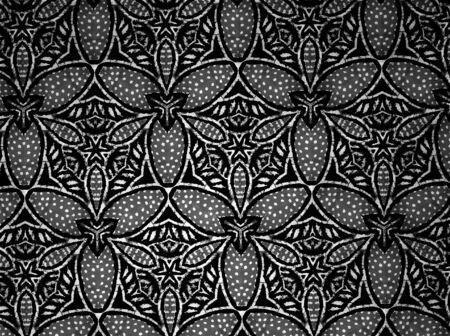 white: Background fabric black and white