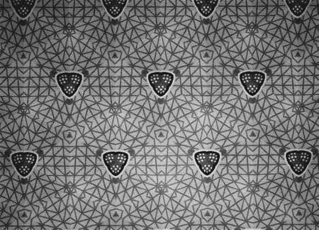fashion: Pattern cloth black and white