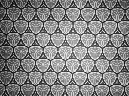 černý: Pattern cloth black and white