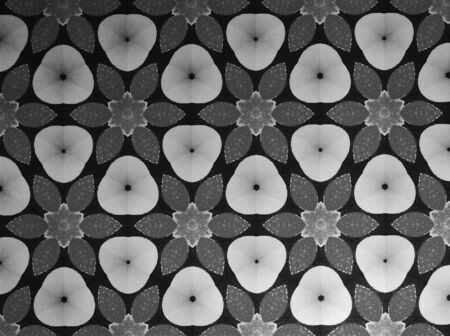 textile: Textile cloth black and white Stock Photo