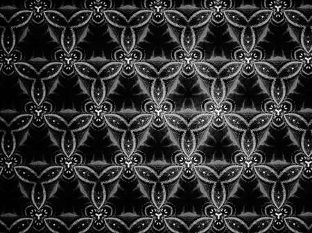 cloth: Pattern cloth black and white