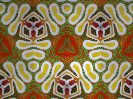 Pattern cloth colorful