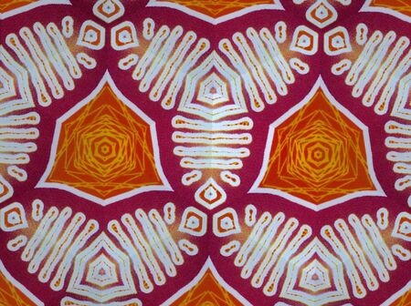 abstract: Pattern cloth colorful