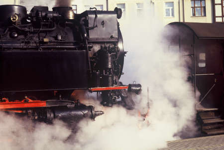 hiss: steam locomotive Editorial