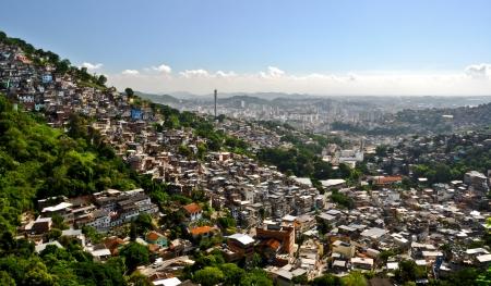 slums: Rio de Janeiro Favelas