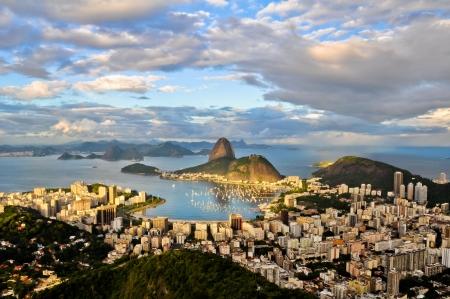 Aerial view of Rio de Janeiro Фото со стока