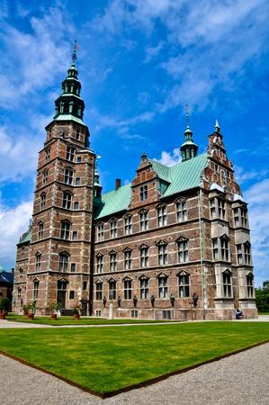 epoch: Il famoso rinascimentale quest'epoca il castello di Rosenborg a Copenhagen
