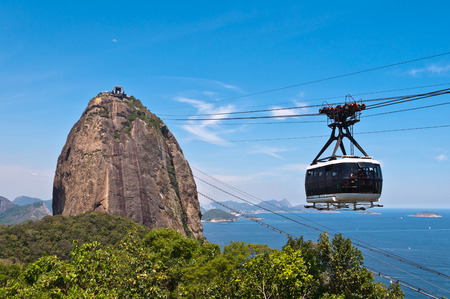 Sugarloaf Mountain with the Cable Car
