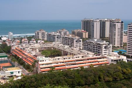 Highly Americanized Barra da Tijuca District in Rio de Janeiro, Brazil