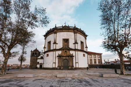 Historical monastery of Serra do Pilar is a World Heritage Site Редакционное