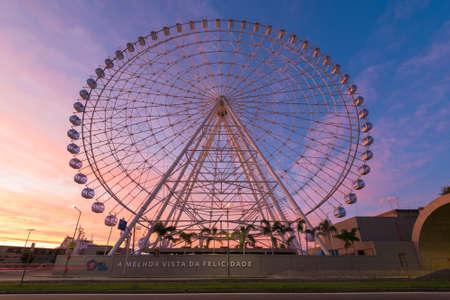 New ferris wheel Rio Star in Rio de Janeiro, Brazil