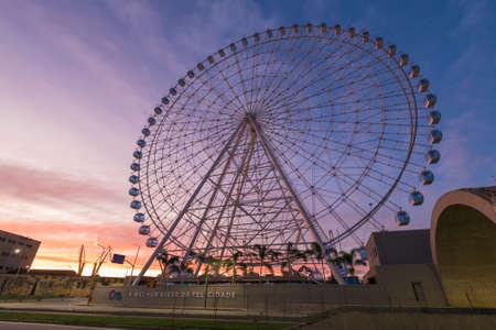 New ferris wheel Rio Star in Rio de Janeiro, Brazil Фото со стока - 153147842