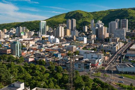 Aerial View of Nova Iguacu City, Metropolitan Area of Rio de Janeiro