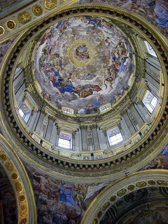 the duomo: naples duomo, san gennaro chapel Stock Photo