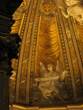 love dome: naples duomo, an angel