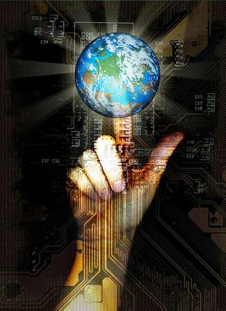 tecnology: access to virtual world
