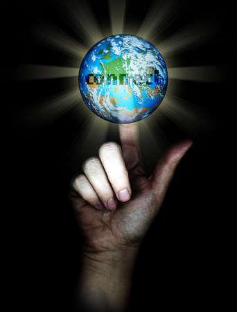 photomanipulation: connect to digital world